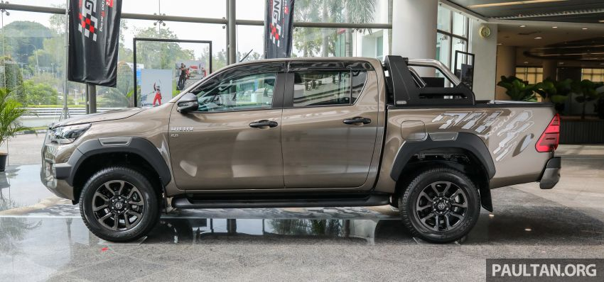 2021 Toyota Hilux facelift launched in M'sia – power bump for 2.8L Rogue, 10k service interval, from RM93k Image #1189055