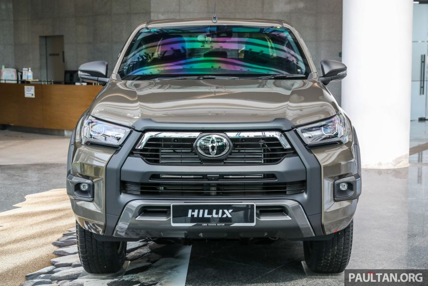 2021 Toyota Hilux facelift launched in M'sia – power bump for 2.8L Rogue, 10k service interval, from RM93k Image #1189057