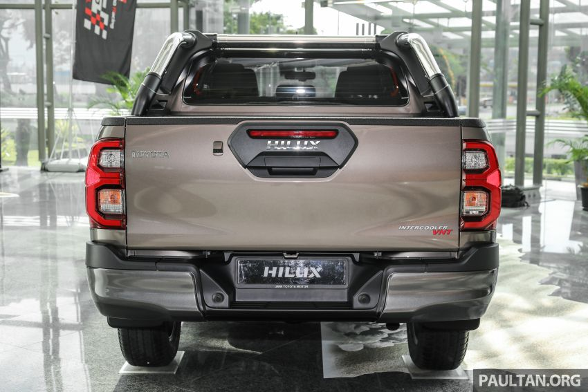 2021 Toyota Hilux facelift launched in M'sia – power bump for 2.8L Rogue, 10k service interval, from RM93k Image #1189060