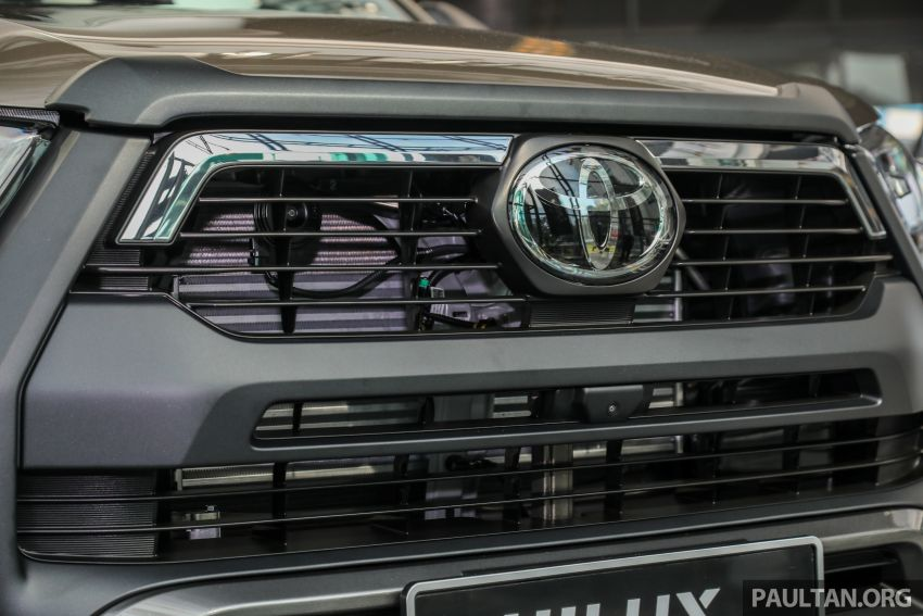 2021 Toyota Hilux facelift launched in M'sia – power bump for 2.8L Rogue, 10k service interval, from RM93k Image #1189068