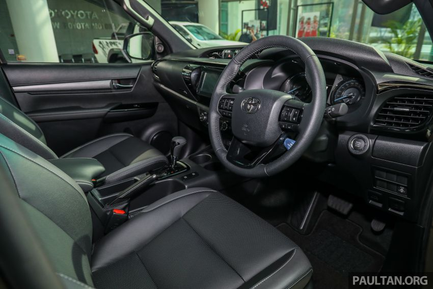 2021 Toyota Hilux facelift launched in M'sia – power bump for 2.8L Rogue, 10k service interval, from RM93k Image #1189097
