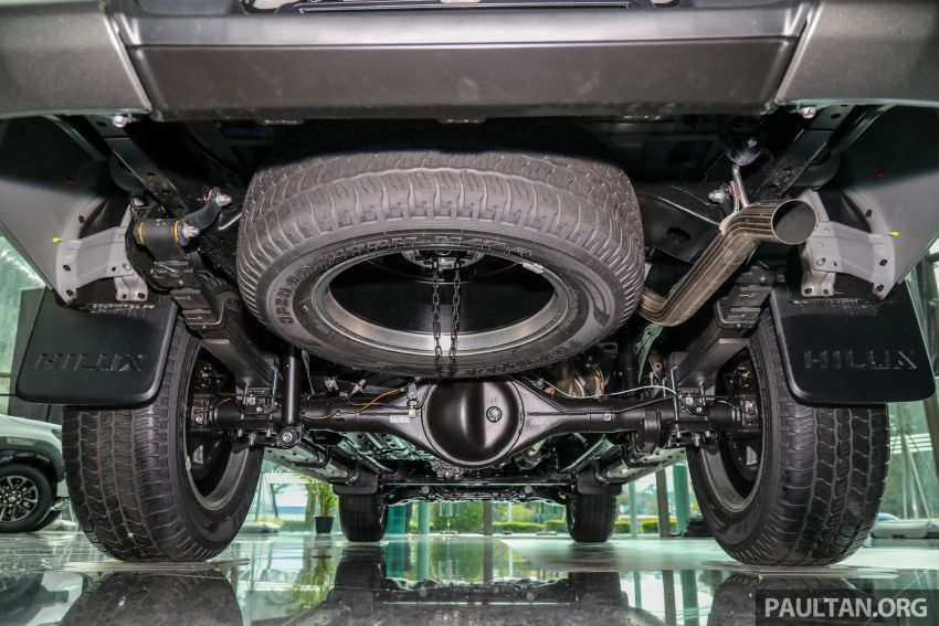 2021 Toyota Hilux facelift launched in M'sia – power bump for 2.8L Rogue, 10k service interval, from RM93k Image #1189133