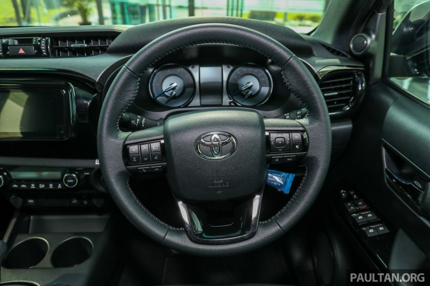 2021 Toyota Hilux facelift launched in M'sia – power bump for 2.8L Rogue, 10k service interval, from RM93k Image #1189099
