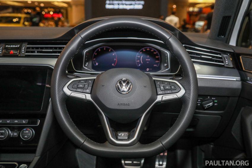 2020 Volkswagen Passat R-Line launched – RM204,433 Image #1192820
