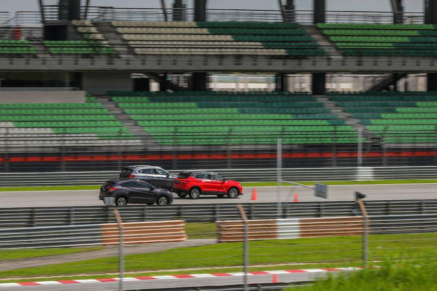 DRAG RACE: Proton X50 vs Honda HR-V vs BMW X1 Image #1186232