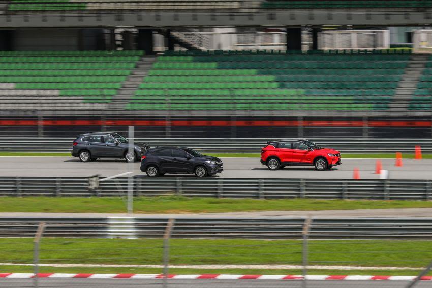 DRAG RACE: Proton X50 vs Honda HR-V vs BMW X1 Image #1186231