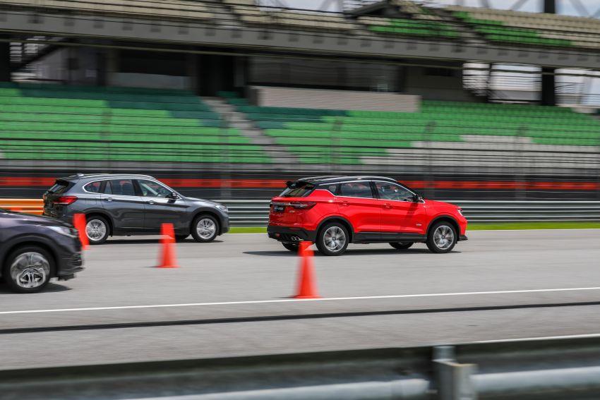 DRAG RACE: Proton X50 vs Honda HR-V vs BMW X1 Image #1186225