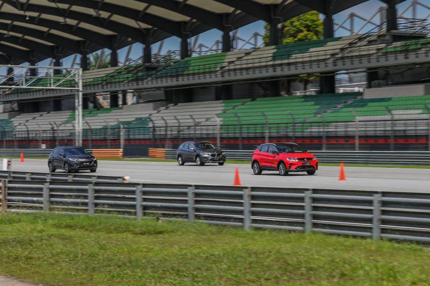 DRAG RACE: Proton X50 vs Honda HR-V vs BMW X1 Image #1186223