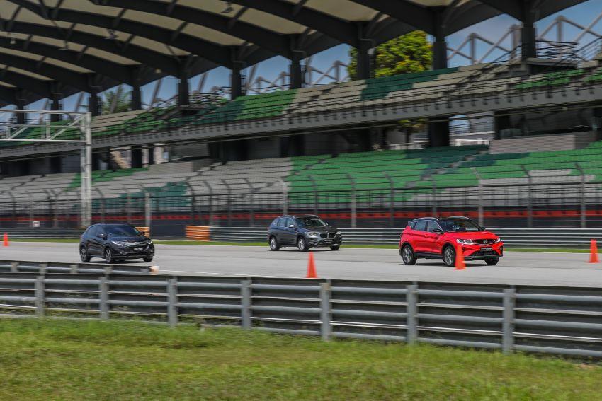 DRAG RACE: Proton X50 vs Honda HR-V vs BMW X1 Image #1186219