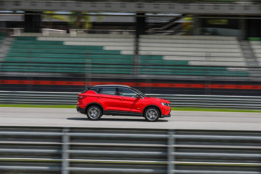 DRAG RACE: Proton X50 vs Honda HR-V vs BMW X1 Image #1186217
