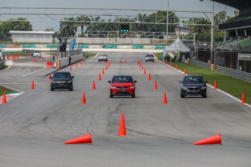 DRAG RACE: Proton X50 vs Honda HR-V vs BMW X1 Image #1186214