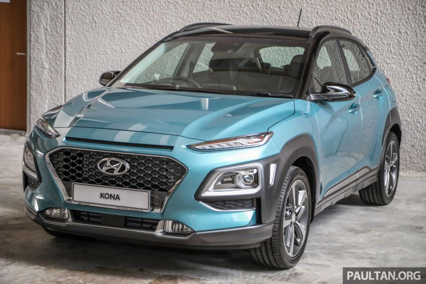 Hyundai Kona B-SUV launched in Malaysia – 2.0L NA; 1.6L Turbo with 177 PS, 7DCT; CBU from RM116k Image #1201352