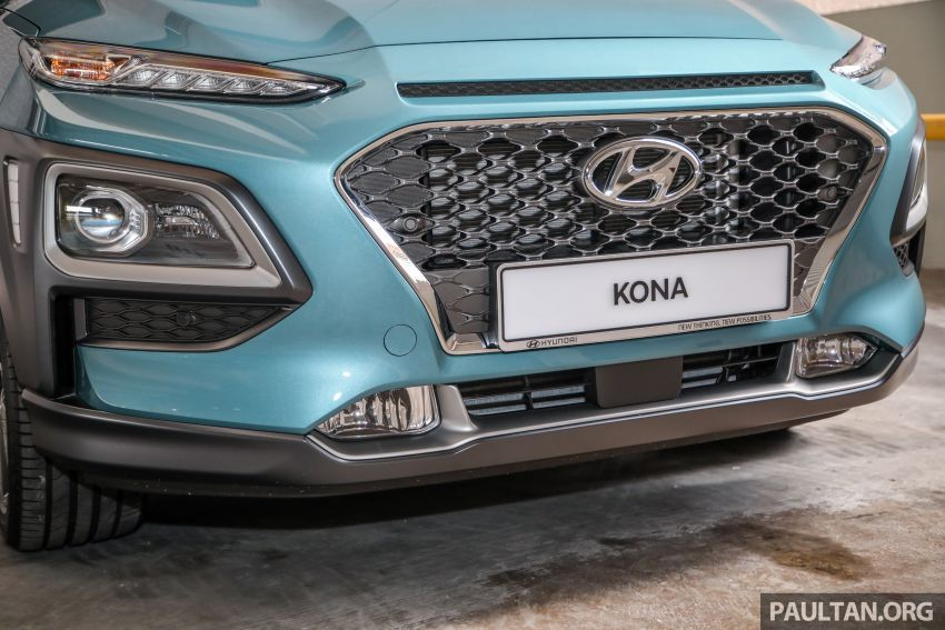 Hyundai Kona B-SUV launched in Malaysia – 2.0L NA; 1.6L Turbo with 177 PS, 7DCT; CBU from RM116k Image #1201365