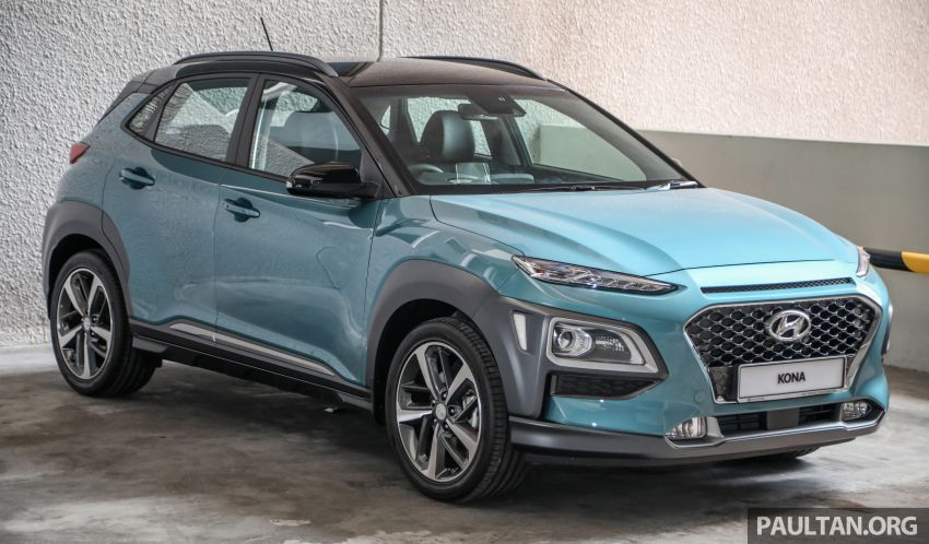 Hyundai Kona B-SUV launched in Malaysia – 2.0L NA; 1.6L Turbo with 177 PS, 7DCT; CBU from RM116k Image #1201353
