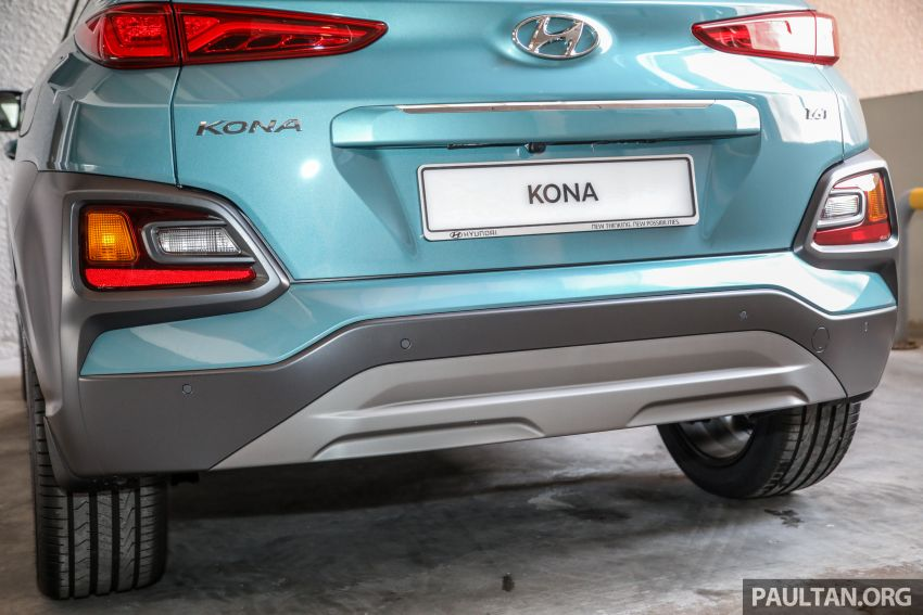 Hyundai Kona B-SUV launched in Malaysia – 2.0L NA; 1.6L Turbo with 177 PS, 7DCT; CBU from RM116k Image #1201381