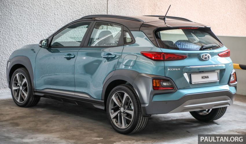Hyundai Kona B-SUV launched in Malaysia – 2.0L NA; 1.6L Turbo with 177 PS, 7DCT; CBU from RM116k Image #1201355
