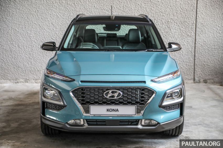 Hyundai Kona B-SUV launched in Malaysia – 2.0L NA; 1.6L Turbo with 177 PS, 7DCT; CBU from RM116k Image #1201356