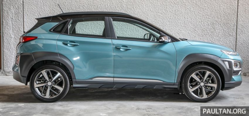 Hyundai Kona B-SUV launched in Malaysia – 2.0L NA; 1.6L Turbo with 177 PS, 7DCT; CBU from RM116k Image #1201358