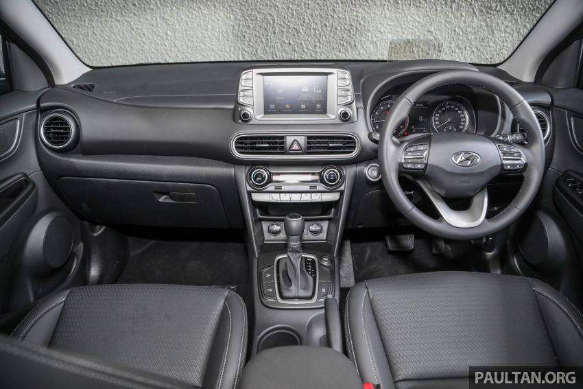 Hyundai Kona B-SUV launched in Malaysia – 2.0L NA; 1.6L Turbo with 177 PS, 7DCT; CBU from RM116k Image #1201387