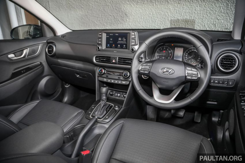 Hyundai Kona B-SUV launched in Malaysia – 2.0L NA; 1.6L Turbo with 177 PS, 7DCT; CBU from RM116k Image #1201416