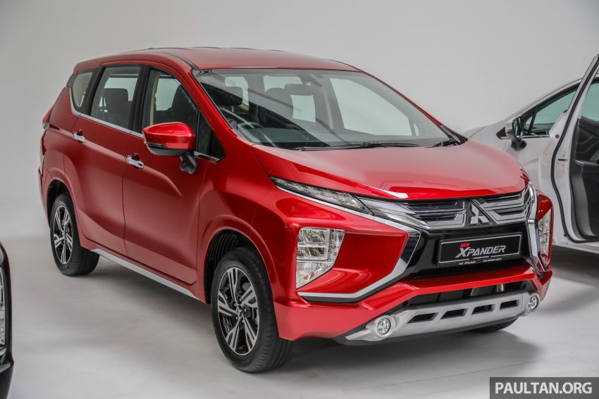 Mitsubishi Xpander open for booking – under RM100k, 9-inch touchscreen with Apple CarPlay, Android Auto Image #1196760