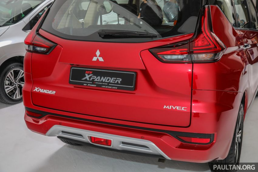 Mitsubishi Xpander open for booking – under RM100k, 9-inch touchscreen with Apple CarPlay, Android Auto Image #1196780