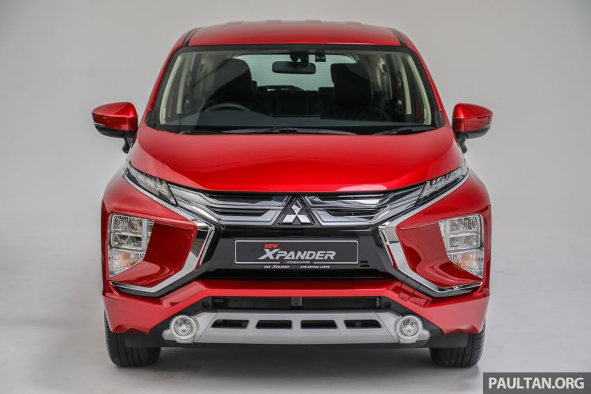 Mitsubishi Xpander open for booking – under RM100k, 9-inch touchscreen with Apple CarPlay, Android Auto Image #1196763