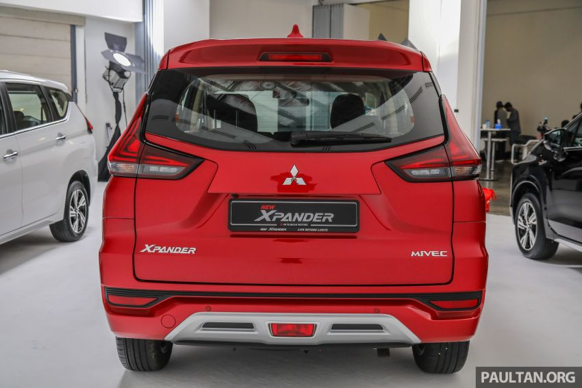 Mitsubishi Xpander open for booking – under RM100k, 9-inch touchscreen with Apple CarPlay, Android Auto Image #1196764