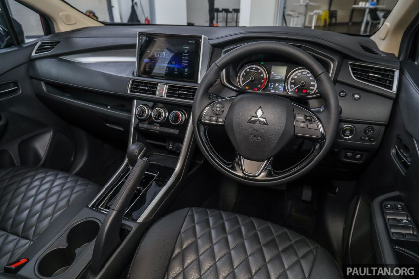 Mitsubishi Xpander open for booking – under RM100k, 9-inch touchscreen with Apple CarPlay, Android Auto Image #1196822