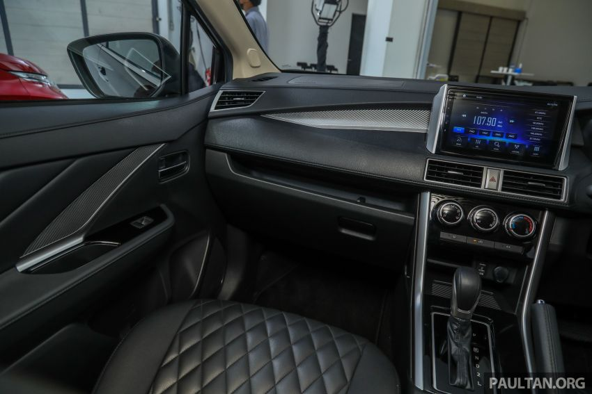 Mitsubishi Xpander open for booking – under RM100k, 9-inch touchscreen with Apple CarPlay, Android Auto Image #1196824