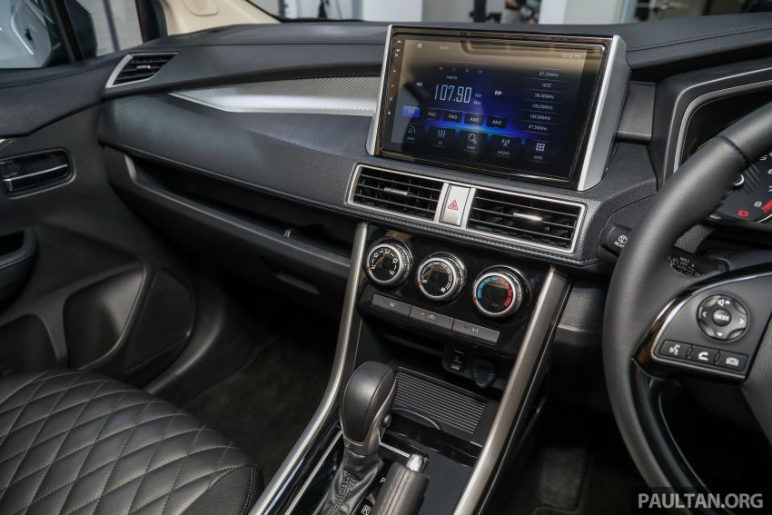 Mitsubishi Xpander open for booking – under RM100k, 9-inch touchscreen with Apple CarPlay, Android Auto Image #1196799