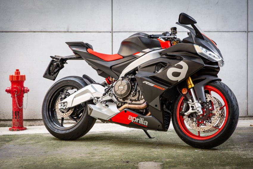 2021 Aprilia RS660 revealed – 100 hp parallel-twin Image #1191357