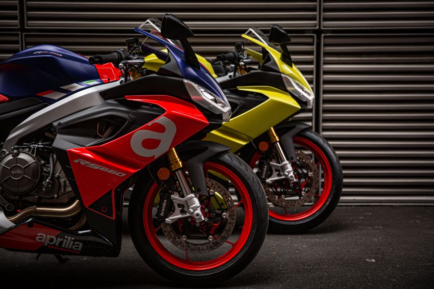 2021 Aprilia RS660 revealed – 100 hp parallel-twin Image #1191359
