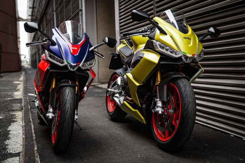 2021 Aprilia RS660 revealed – 100 hp parallel-twin Image #1191360
