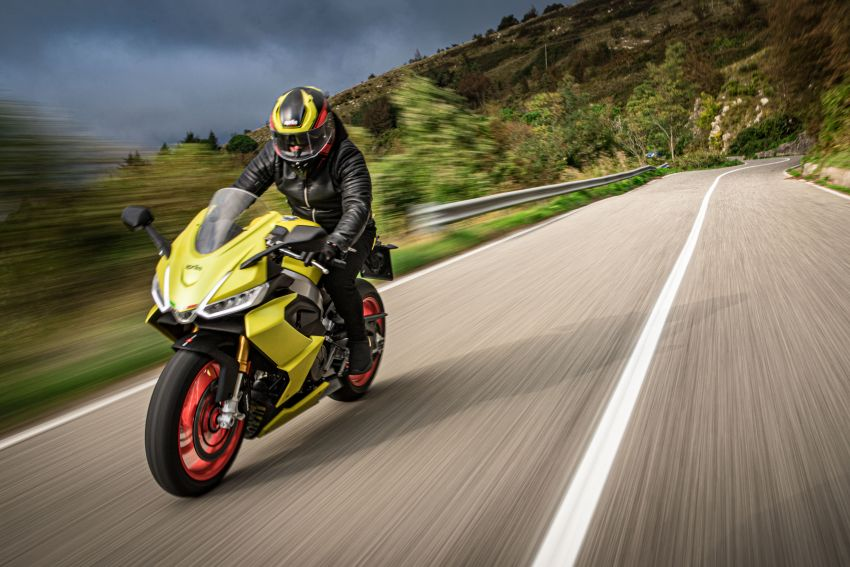 2021 Aprilia RS660 revealed – 100 hp parallel-twin Image #1191363