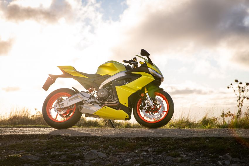 2021 Aprilia RS660 revealed – 100 hp parallel-twin Image #1191347