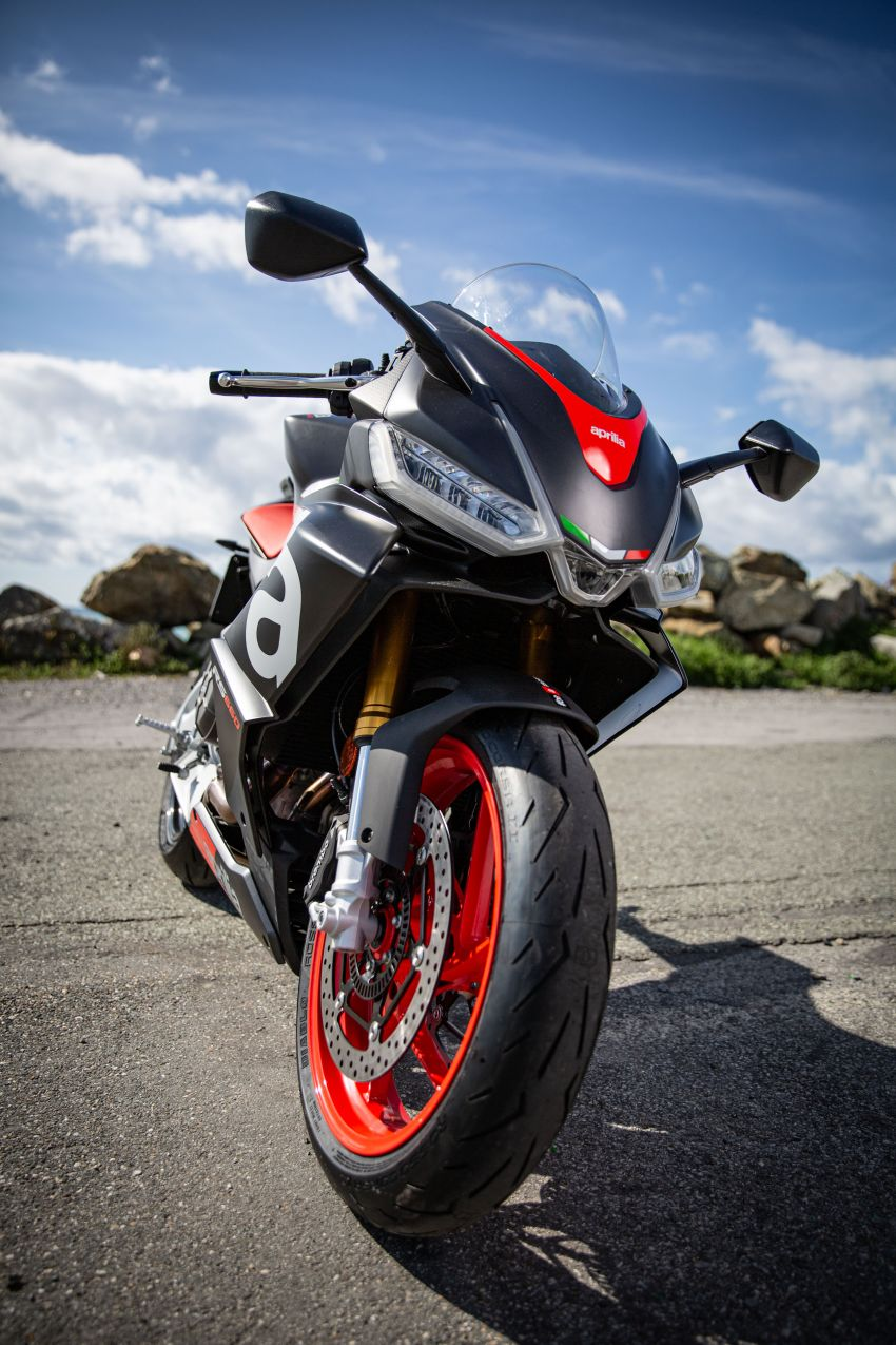 2021 Aprilia RS660 revealed – 100 hp parallel-twin Image #1191353