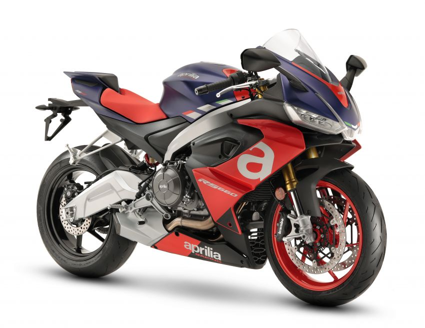 2021 Aprilia RS660 revealed – 100 hp parallel-twin Image #1191304