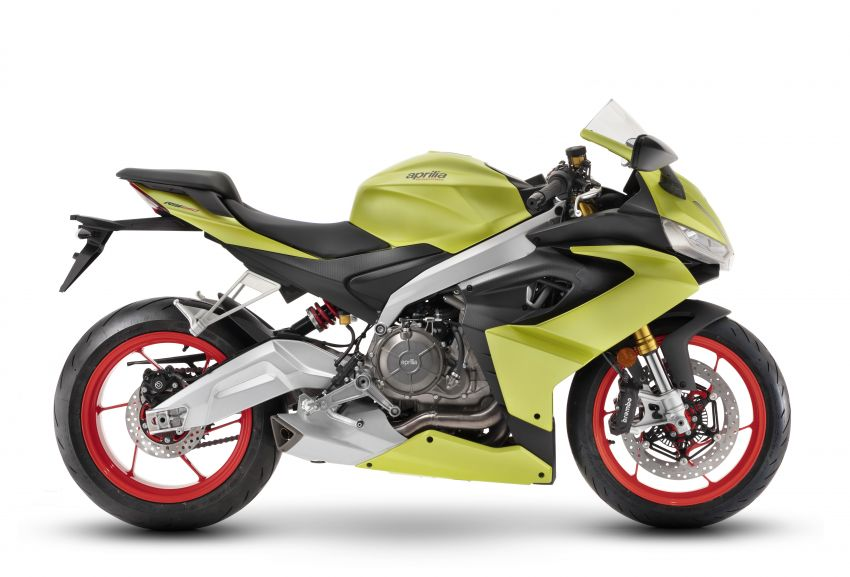 2021 Aprilia RS660 revealed – 100 hp parallel-twin Image #1191306