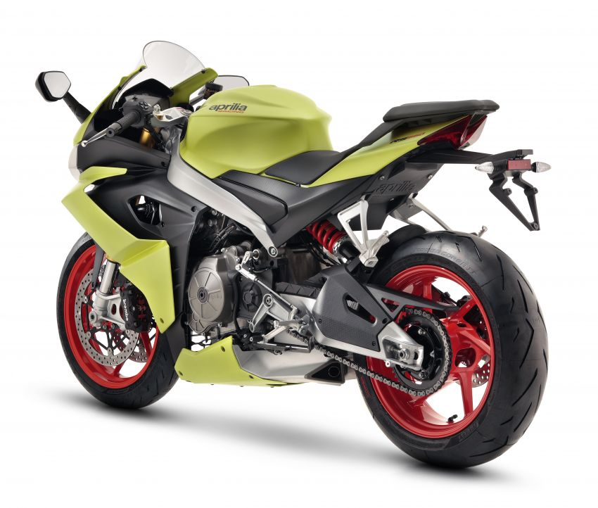 2021 Aprilia RS660 revealed – 100 hp parallel-twin Image #1191312