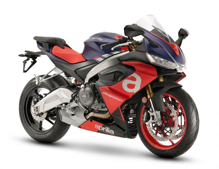 2021 Aprilia RS660 revealed – 100 hp parallel-twin Image #1191325