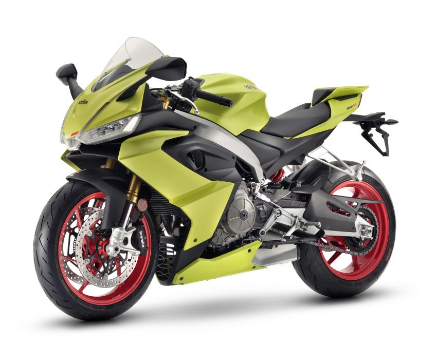 2021 Aprilia RS660 revealed – 100 hp parallel-twin Image #1191290