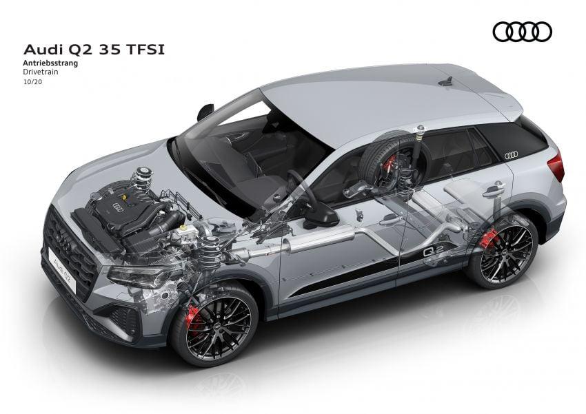 MEGA GALLERY: 2021 Audi Q2 facelift in greater detail Image #1197677