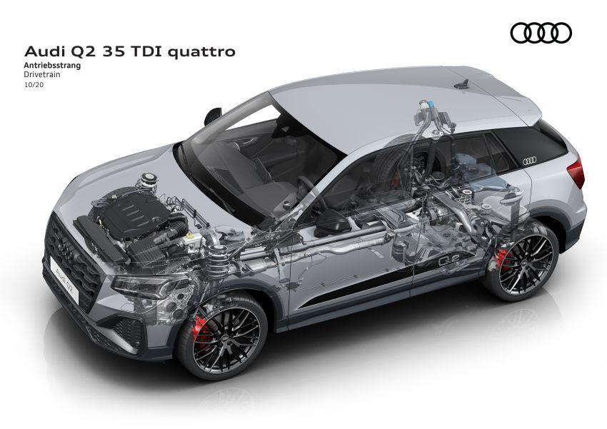 MEGA GALLERY: 2021 Audi Q2 facelift in greater detail Image #1197681