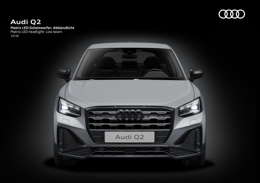 MEGA GALLERY: 2021 Audi Q2 facelift in greater detail Image #1197595
