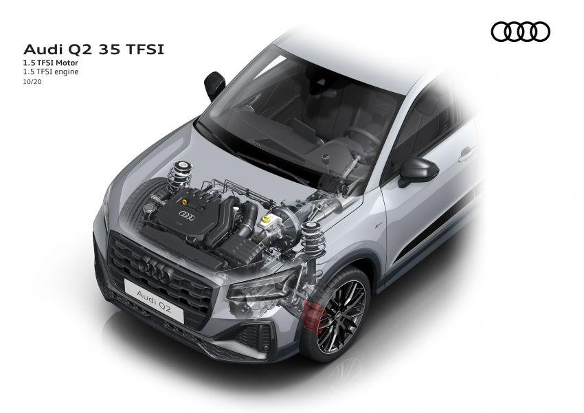 MEGA GALLERY: 2021 Audi Q2 facelift in greater detail Image #1197598