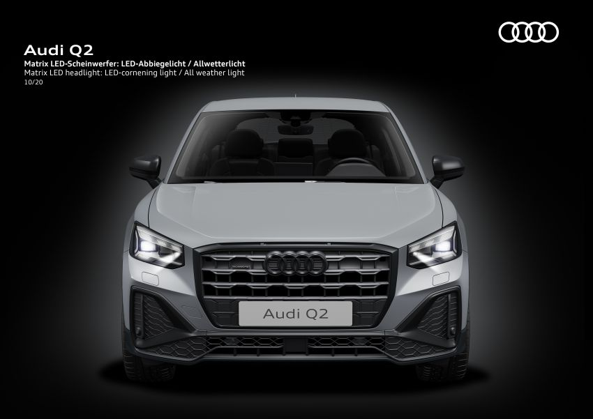 MEGA GALLERY: 2021 Audi Q2 facelift in greater detail Image #1197600
