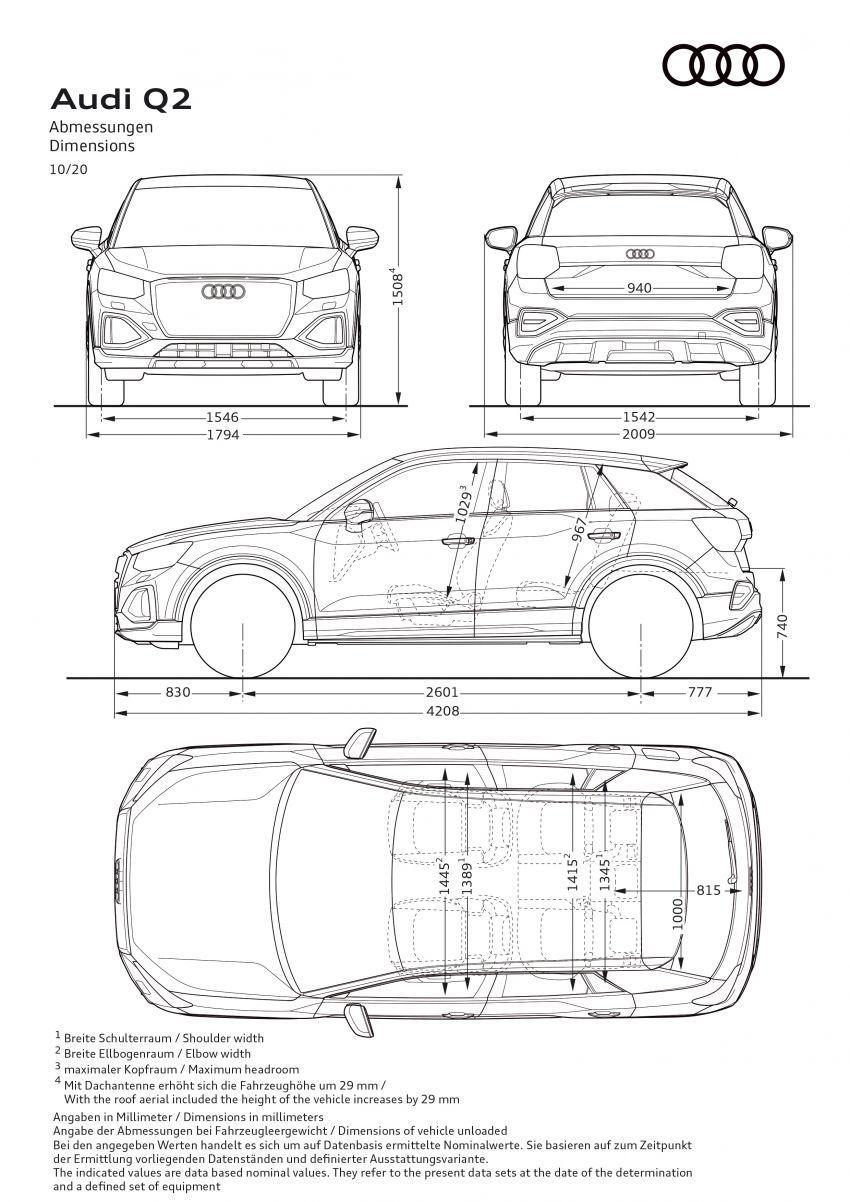 MEGA GALLERY: 2021 Audi Q2 facelift in greater detail Image #1197602