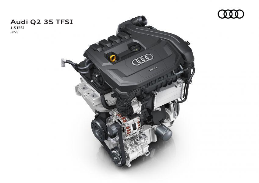 MEGA GALLERY: 2021 Audi Q2 facelift in greater detail Image #1197672