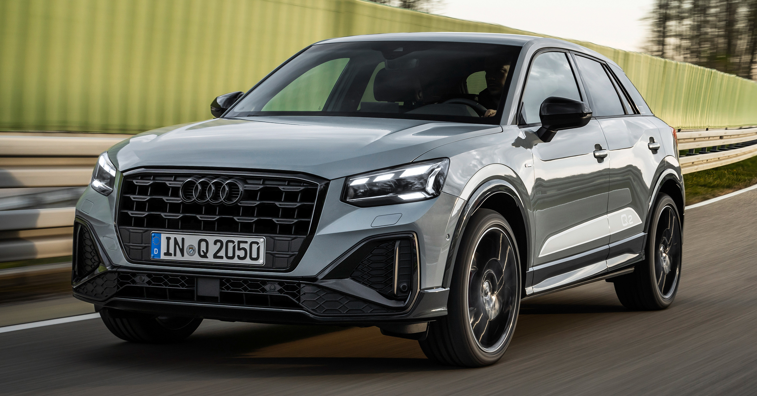 2021 Audi Q2 Facelift in Arrow Grey_Exterior - Paul Tan's Automotive News